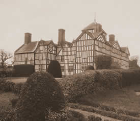 Old Lymore House, now demolished
